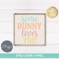 Grab all egg-cellent Easter designs you love! Flash sale on ONLY Save with SPRINGSALE code. Purchases are compatible with Silhouette, Cricut, Scan N Cut, Adobe Illustrator and other cutting and design programs. Easter Crafts, Easter Decor, Easter Ideas, Some Bunny Loves You, Diy Wood Signs, Spring Design, Easter Celebration, Printable Art, Printables
