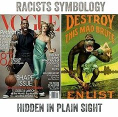 OOOR it could be two fit and nice people on the cover of a magazine. Stop making EVERYTHING we do racist. I KNOW there is Racism out there. What about the little white skinny girls who are blamed for our ancestors evil ways! Master Of The Universe, Pseudo Science, By Any Means Necessary, Black History Facts, Black Power, African American History, Black People, Nice People, Black Is Beautiful