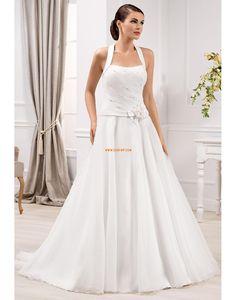 Elegantní & luxusní Jaro Přírodní Svatební šaty 2014