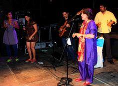 La noche cerró con una presentación conjunta de Amaranta Pérez, Luis Pino, Anselmo López, Ana Loyo y Cecilia Todd ¡Sólo FitVen permite momentos como estos!