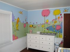 dr. seuss decorating ideas for nursery | Dr. Seuss Inspired Nursery, We wanted to do a Dr. Seuss themed room ...