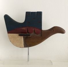 The three middle fingers are broken off. Le Corbusier gave it to Paul Rudolph when he'd visited the master's studio on a pilgrimage. Le Corbusier, Alvar Aalto, Cap Martin, Foam Carving, Pierre Jeanneret, Found Object Art, Illustrations And Posters, Famous Artists, Sculpture Art