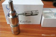 Wholesale Wholesale Price - Buy Kayfun Atomizer E Cigarette Clearomizers Kayfun Kit 3.1 Airflow Control Bottom For E Cig Mod Like Hammer King Maraxus Nemesis Tesla Vmax, $12.57 | DHgate