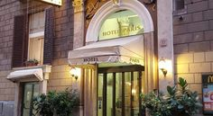 Hotel Paris Roma Hotel Paris is conveniently situated between Rome's central station and the Coliseum and is very well-connected to the Metro and buses, meaning that all of Rome's sights are close by.