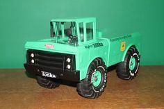 Tonka Trucks, Tonka Toys, Old Toys, Vintage Toys, Tractors, Monster Trucks, Toys, Old Fashioned Toys, Old School Toys
