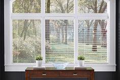 "Heartland Woods® Blinds 1"", 2"", and 2 1/2"" Slat Comparison | Lafayette Interior Fashions"