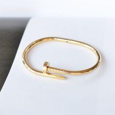 Majolie - Bracelet Clou Or – Majolie - Des bijoux prêts à offrir!