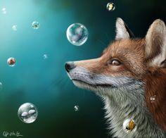 fox fantasy by SvPolarFox.deviantart.com on @deviantART