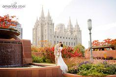 Amy and David's Wedding- Salt Lake Temple and Millcreek Inn « Amanda Abel Photography Blog