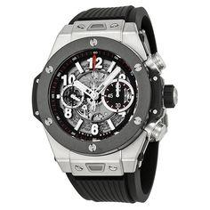 Hublot Big Bang Unico Titanium Ceramic Skeletal Dial Men's Watch 411.NM.1170.RX - Big Bang - Hublot - Shop Watches by Brand - Jomashop