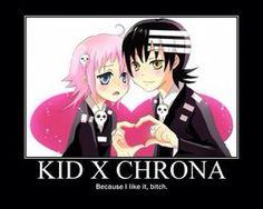 Death the Kid x Crona