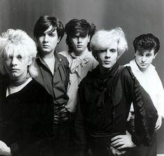 The new romantics: Duran Duran members Andy Taylor, Simon Le Bon, John Taylor, Nick Rhodes and Roger Taylor