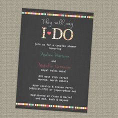 24 best bridal shower invitations images on pinterest custom couples bridal shower invitation etsyshopfreshlysqueezedcards couples shower themes filmwisefo