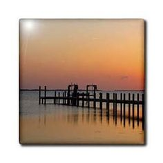 """Abelmarle Sound at Kitty Hawk, North Carolina - US34 DFR0002 - David R. Frazier - 12 Inch Ceramic Tile by 3dRose. $22.99. Construction grade. Floor installation not recommended.. Clean with mild detergent. High gloss finish. Image applied to the top surface. Dimensions: 12"""" H x 12"""" W x 1/4"""" D. Abelmarle Sound at Kitty Hawk, North Carolina - US34 DFR0002 - David R. Frazier Tile is great for a backsplash, countertop or as an accent. This commercial quality construct..."""