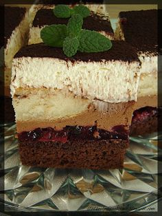 Polish Recipes, Creative Food, Sweet Recipes, Tiramisu, Ale, Cheesecake, Tasty, Sweets, Chocolate