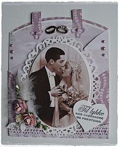 Wedding-card by Bente