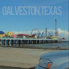 Pleasure Pier at Galveston, Texas