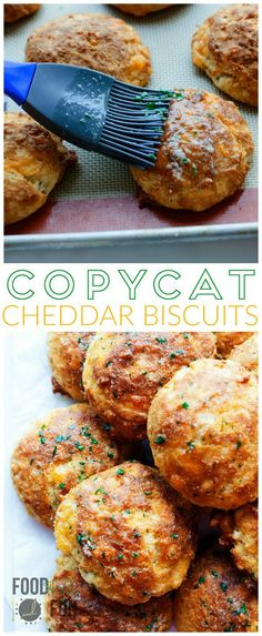 CHEDDAR BISCUITS COPYCAT RECIPE | Featured on www.thebestblogrecipes.com