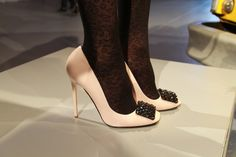 pretty pumps with crystal details from kate spade fall 2013 {love}