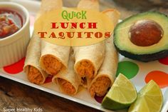 Quick Lunch Taquitos