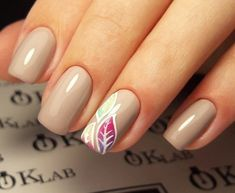 + 44 Beige nails art 2018 collection
