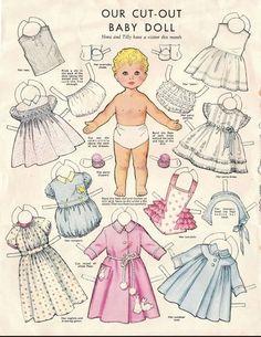Más muñecas de papel | El blog de Las Cosas de Mami