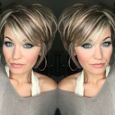 Hair Care Tips. Tips with regard to fantastic looking hair. Your own hair is certainly what can define you as a person. To numerous people today it is usually vital to have a really good hair do. Short Haircut, Short Bob Hairstyles, Trending Hairstyles, Pixie Haircut, Layered Hairstyles, Bob Haircuts, Simple Hairstyles, School Hairstyles, Formal Hairstyles