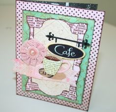 Girl's Day Out Card  #Card-Making