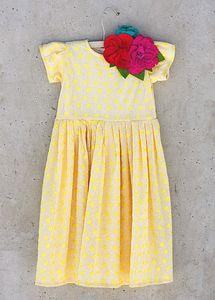 Joyfolie | Vala Dress with Flower Pin