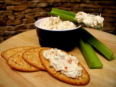 TUNA CREAM CHEESE SPREAD with curry! (just like Bob's mom made and rolled into tortillas!!) This is really delicious, especially if you are low-carbing it. Its a great alternative to plain tuna salad. Can be used as a dip for celery sticks, spread on celery stalks, or stuffed in cherry tomatoes. Prep time does not include chill time, since you can leave it in the fridge for longer than the one hour mentioned in the recipe.
