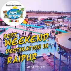 #Fun beyond expectations! Come and find the undiscovered paradise that is waiting for you. A magical place full of fun and adventures. #MMFunCity #WaterPark #Raipur #Weekend