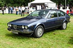Alfa Romeo Alfetta 2000 GTV #alfa #alfaromeo #italiandesign