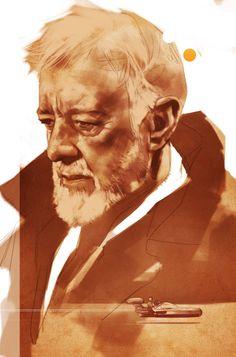 Star Wars - Obi Wan Kenobi by Ben Oliver *