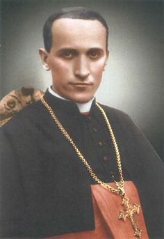 Blessed Martyr Cardinal Aloysius Stepinac, Archbishop of Zagreb, murdered by the communists in former Yugoslavia after being tortured for two weeks.