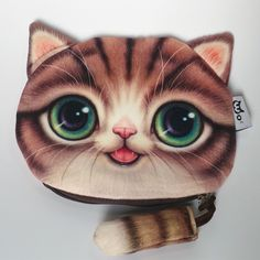 NEW Printed on both sides Cat Face Zipper Coin purse kids wallet kawaii bag change coin pouch children's purse women coin wallet♦️ SMS - F A S H I O N  http://www.sms.hr/products/new-printed-on-both-sides-cat-face-zipper-coin-purse-kids-wallet-kawaii-bag-change-coin-pouch-childrens-purse-women-coin-wallet/ US $1.88