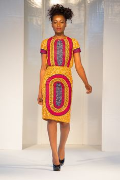 African Fashion Week 2012 | April 2nd collection at Africa Fashion Week London 2012