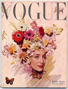 British Vogue 1949, London Season, Cecil Beaton