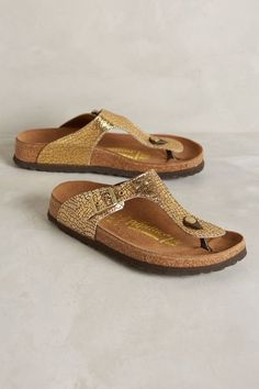 Birkenstock Gizeh Sandals #anthrofave
