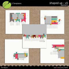 Templates: Shaped Up v5 - Banners