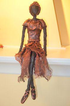 Earlier Works 2010-2012 - Fabric Art ROCKS! Sculptures by Lise