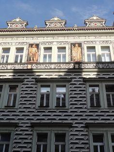 Houses of Prague, Czechia #Prague #houses #Czechia