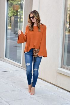 Bell Sleeve Sweaters for fall