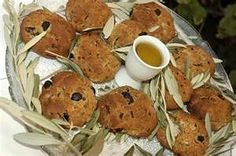 Olive Bread. A traditional style bread in By Turkish Cypriots in Northern Cyprus.