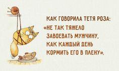Фото: Смешные открытки про забавные отношения между мужчиной и женщиной