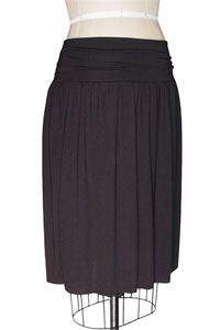 How to Make a Gathered Jersey Skirt