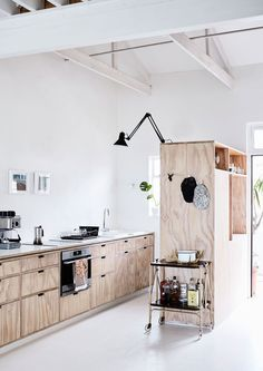 Plywood #Kitchen Inspiration