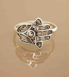 Favorite Filigree Hamsa Ring by TeriLeeJewelry on Etsy, $34.00 (know ya'll know where to find it)