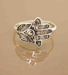 Favorite Filigree Hamsa Ring ( Etsy :: http://www.etsy.com/listing/49009012/promotion-favorite-filigree-hamsa )