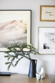 the frame TV gallery wall | coco kelley