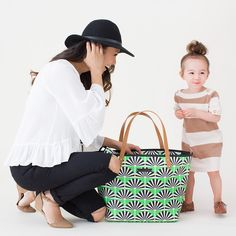 Who says diaper bags are boring?
